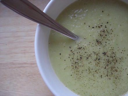 Tasty soup recipes and eating raw