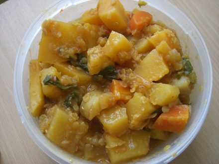 Root Vegetable and Lentil Stew