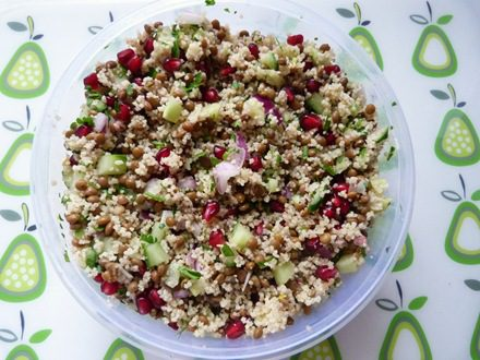 Jewelled Couscous Salad