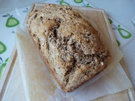Easy Peasy Cider Bread (Vegan)