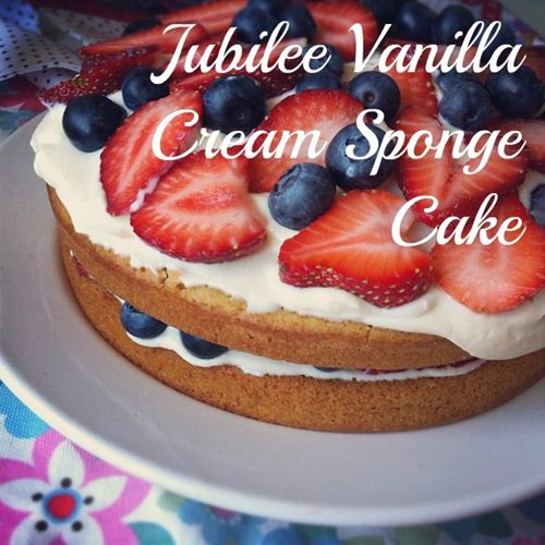 Recipe: Vegan Vanilla Cream Sponge Cake