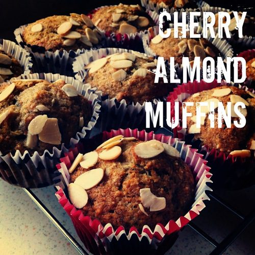 Recipe: Cherry Almond Muffins