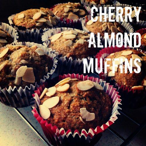 Recipe: Cherry Almond Muffins
