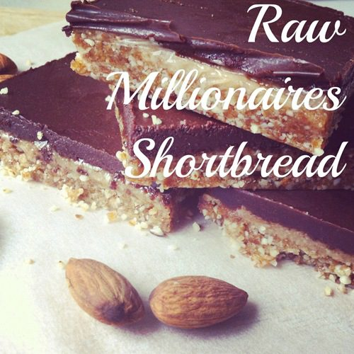 Recipe: Raw Millionaires Shortbread