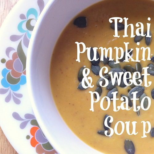 Recipe: Thai Pumpkin and Sweet Potato Soup