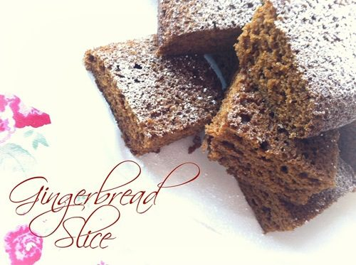 Recipe: Gingerbread Slice