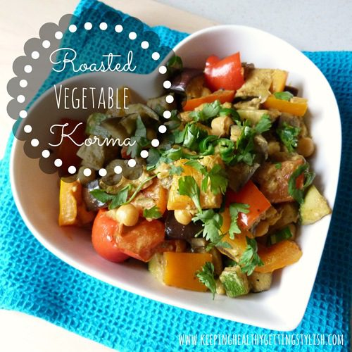 Recipe: Roasted Vegetable Korma (Vegan)