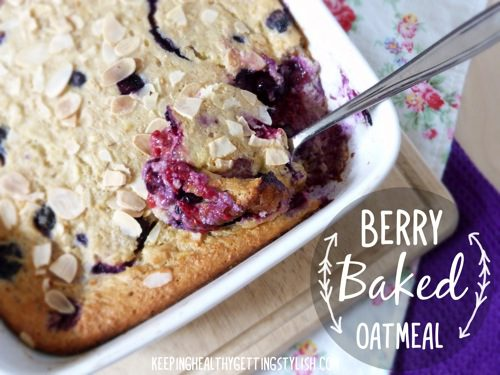 Recipe: Berry Baked Oatmeal