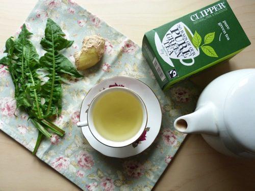Back yard 'beat the bloat' tea recipe!