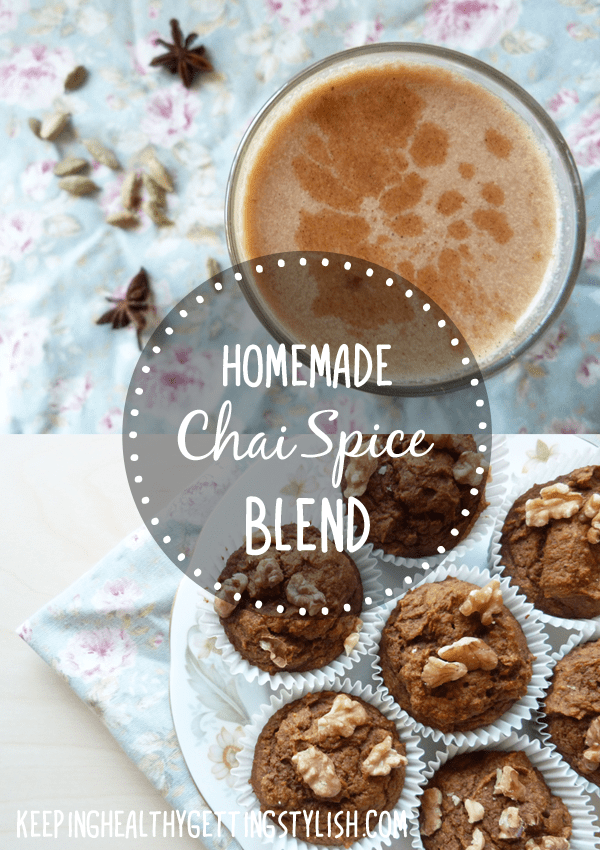 Recipe: Homemade Chai Spice Blend (Coconut Milk Chai Latte + Chai Pumpkin Muffins)