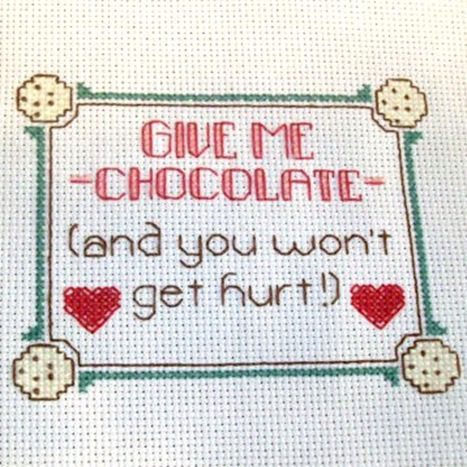 How to avoid boredom eating (with cross stitch and other tips!)