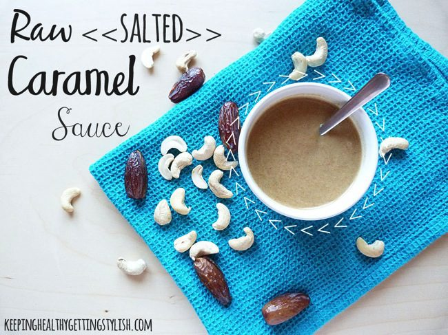 Recipe: Raw Salted Caramel Sauce