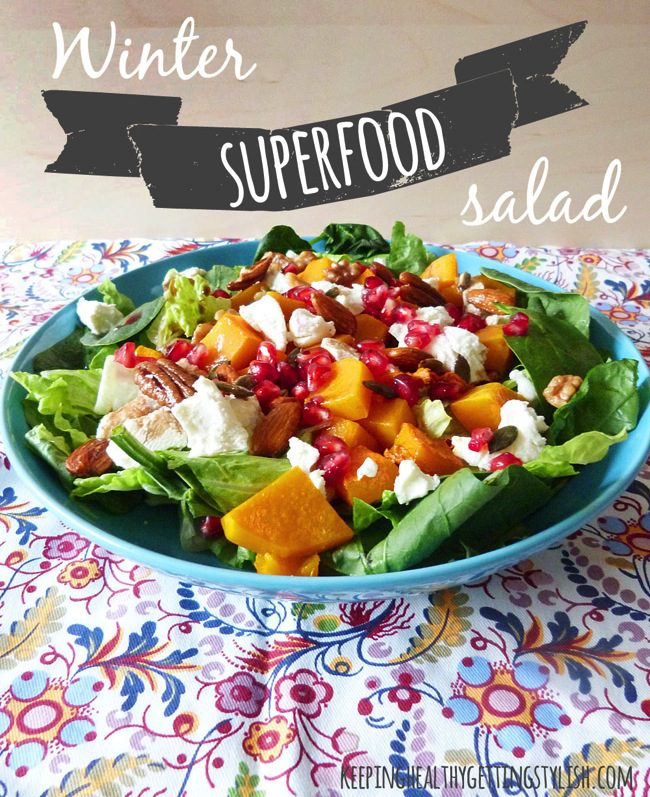 Recipe: Winter Superfood Salad