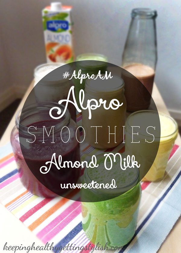 Healthy, delicious smoothies recipes for #AlproAM