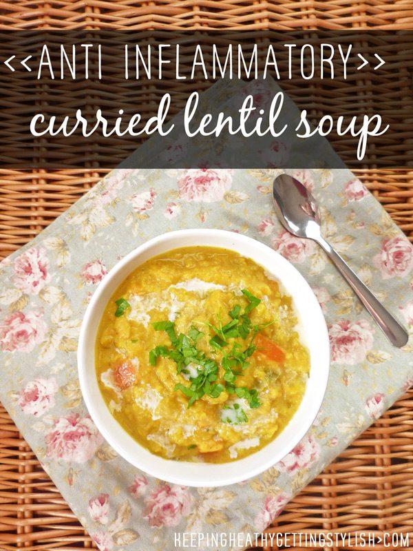 Recipe: Anti Inflammatory Curried Lentil Soup