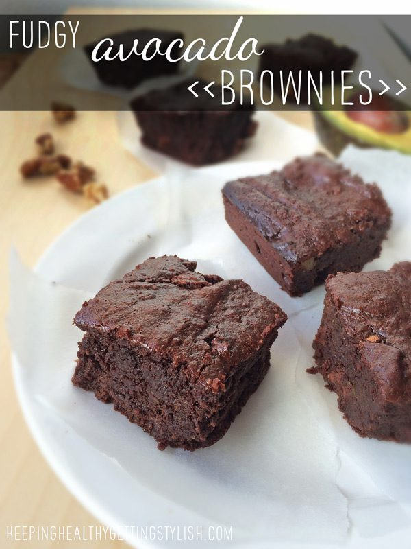 Recipe: Fudgy Avocado Brownies