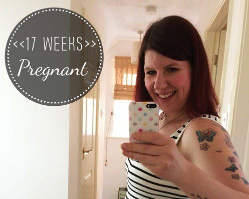 17 Weeks Pregnant: bump shots and natal hypnotherapy