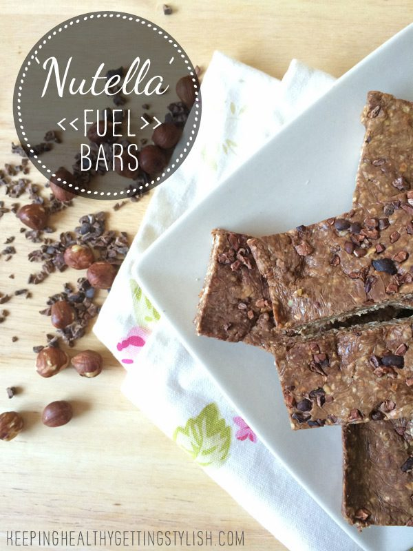 Recipe: 'Nutella' Fuel Bars