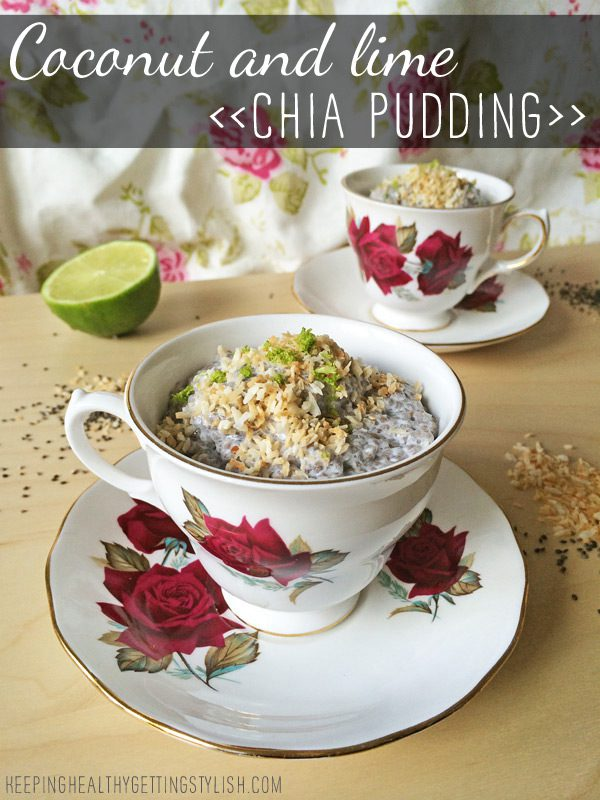 Recipe: Coconut and Lime Chia Pudding
