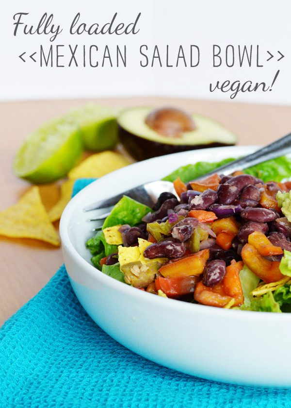Recipe: Fully Loaded Healthy Mexican Salad Bowl