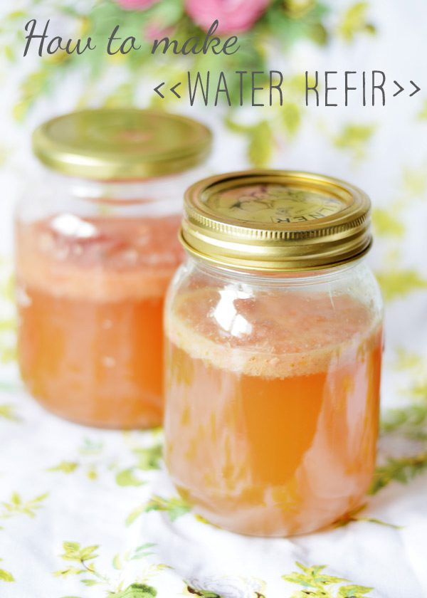 Nourish your gut: how to make water kefir