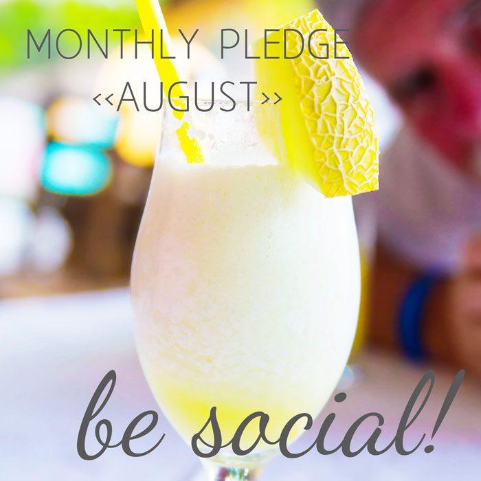 August pledge