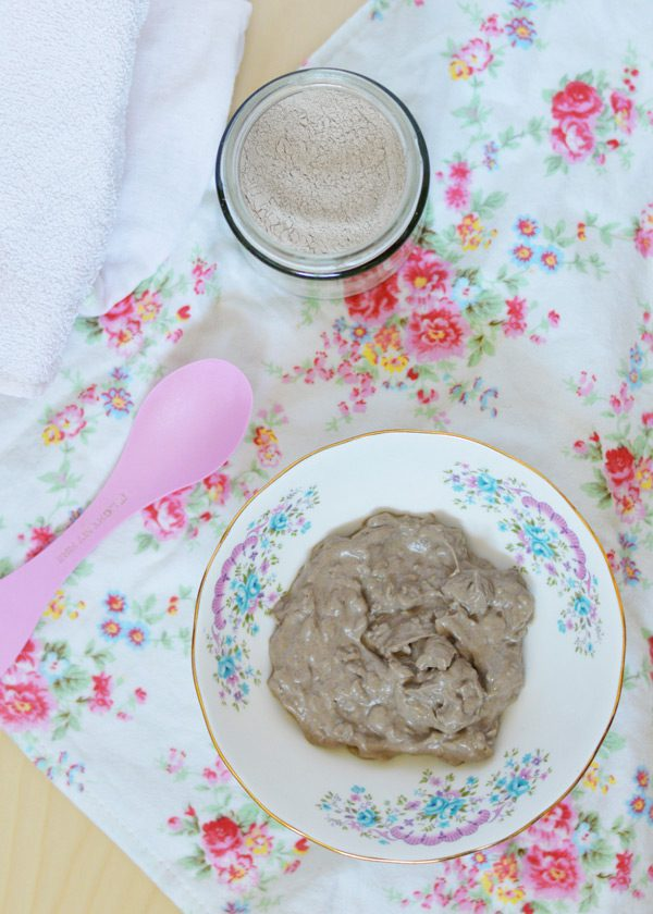 Bentonite clay mask 7