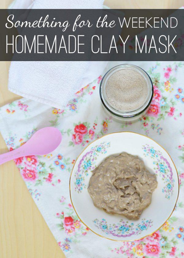 Bentonite clay mask title