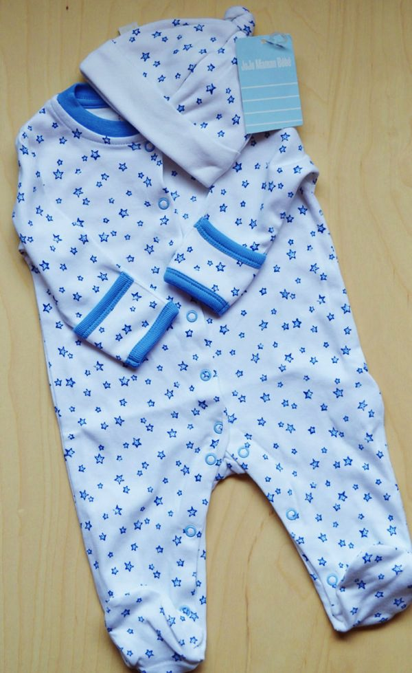 Star sleep suit jojo maman bebe