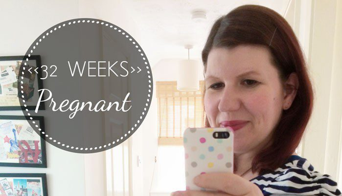 32 Weeks Pregnant: update and cute baby things!