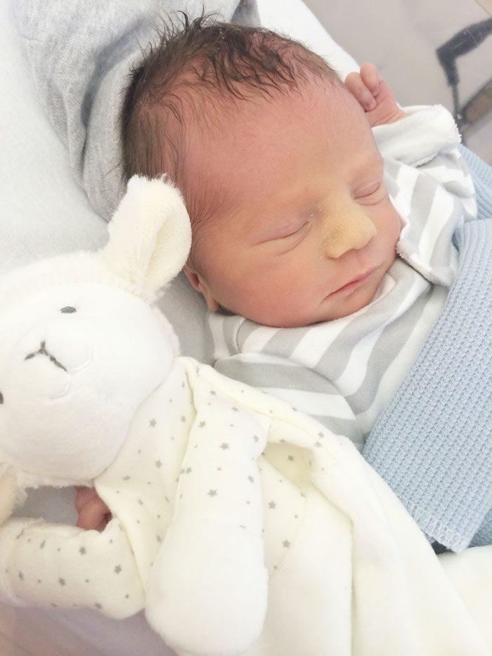Baby finley hospital