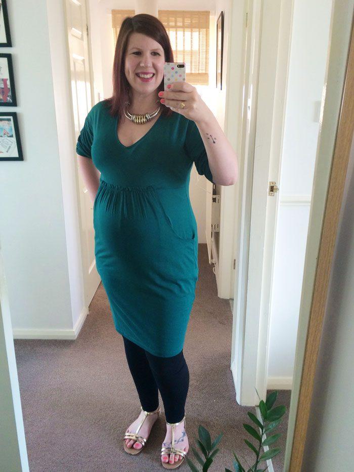 Mamas and papas green dress