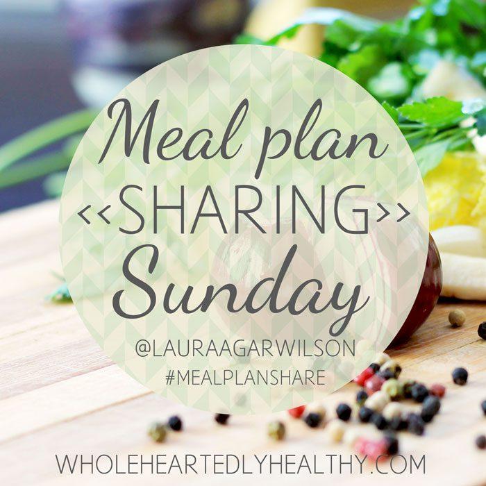 Meal plan share sunday
