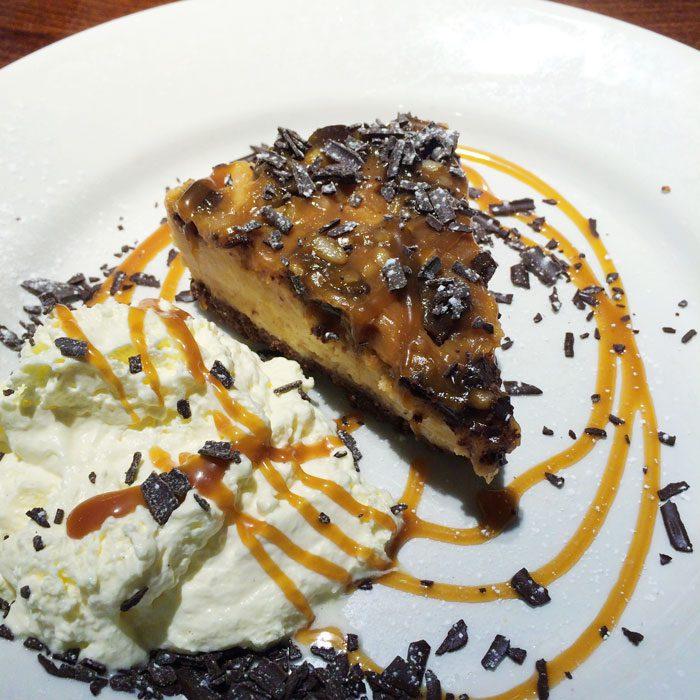 Peanut butter chocolate cheese cake