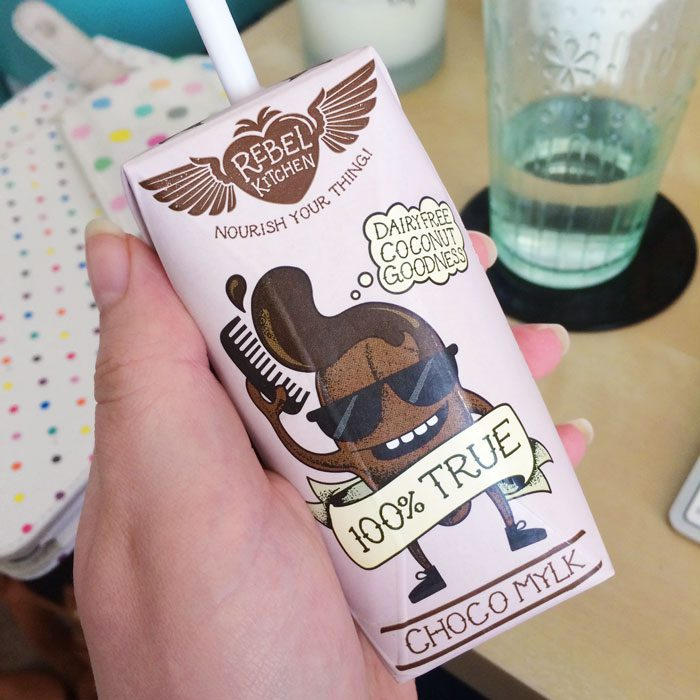Rebel kitchen choco milk