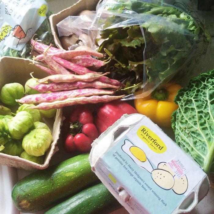 Riverford veg box