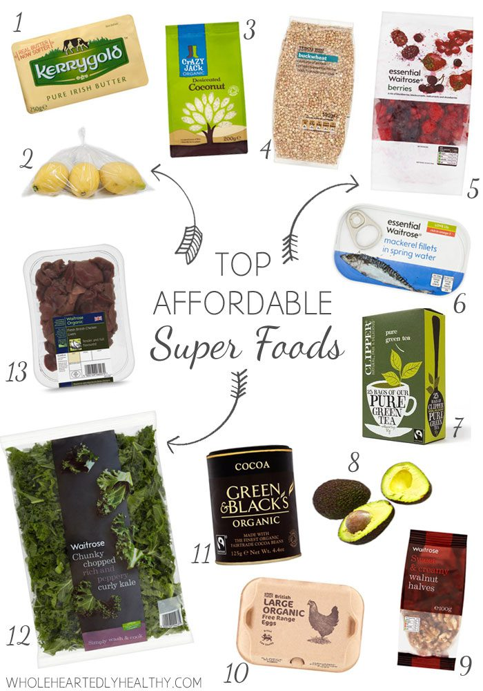 My top affordable superfoods