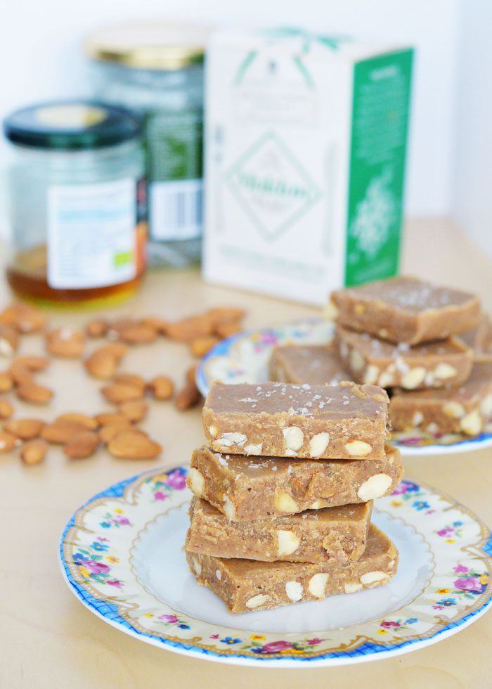 Almond butter fudge 12