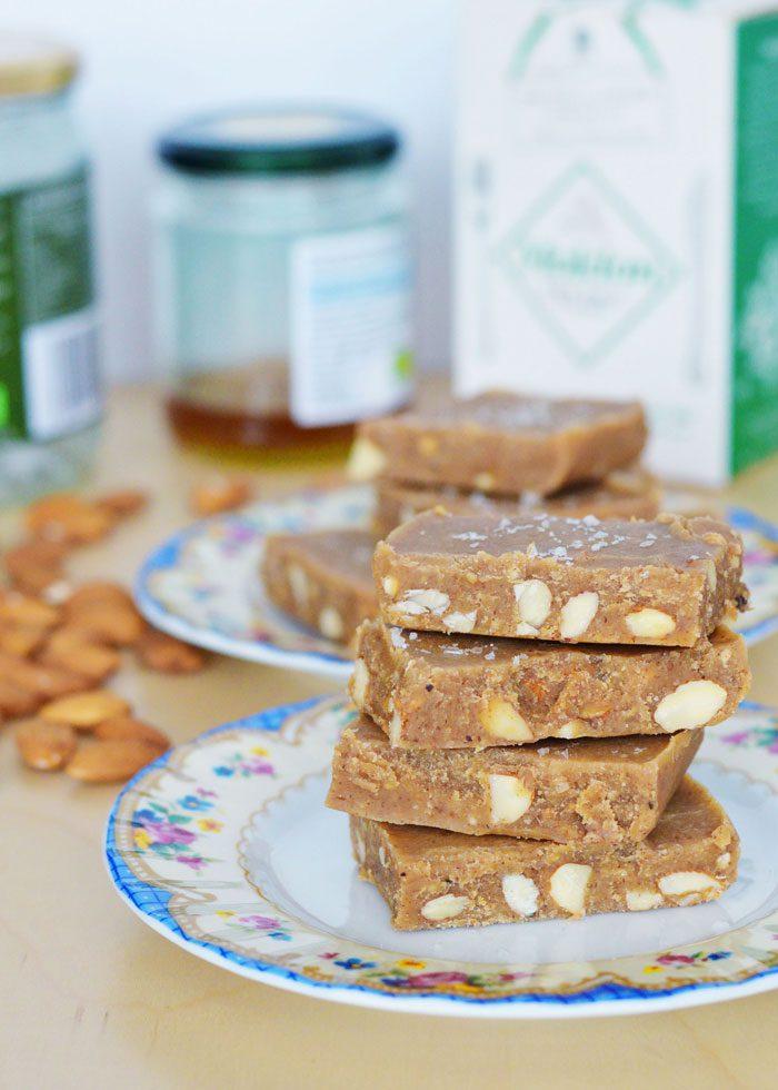 Almond butter fudge 15