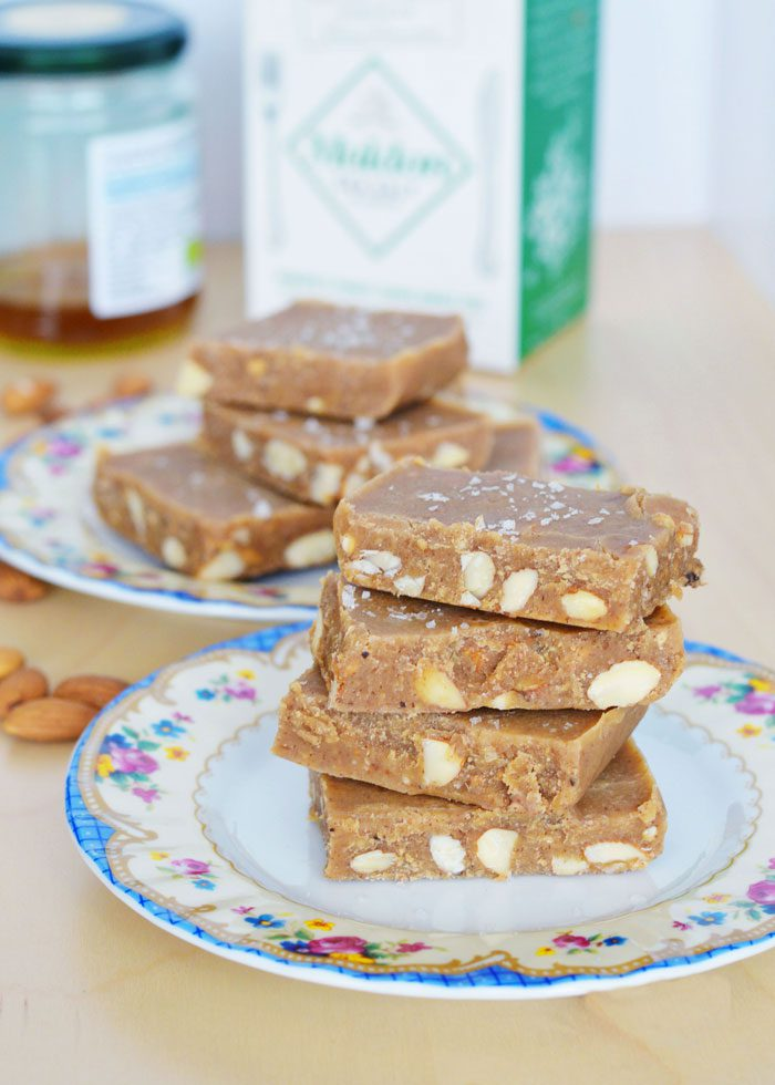 Almond butter fudge 18