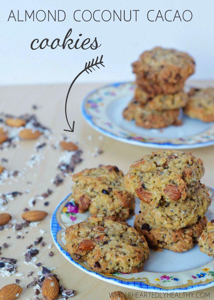 Recipe: Almond Coconut Cacao Cookies