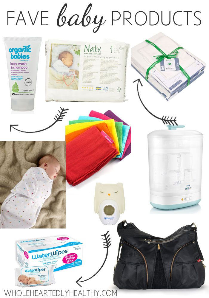 Fave baby products