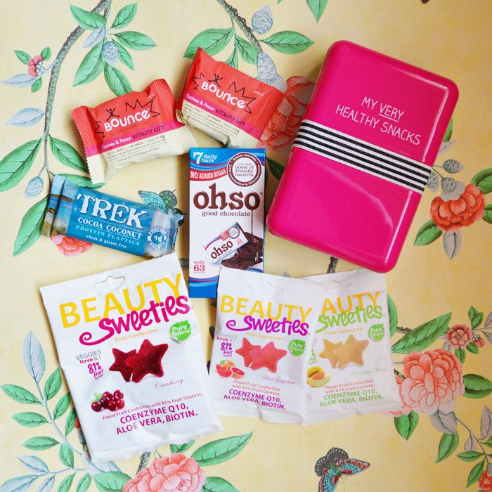 Healthy lunch box swaps with Holland and Barrett