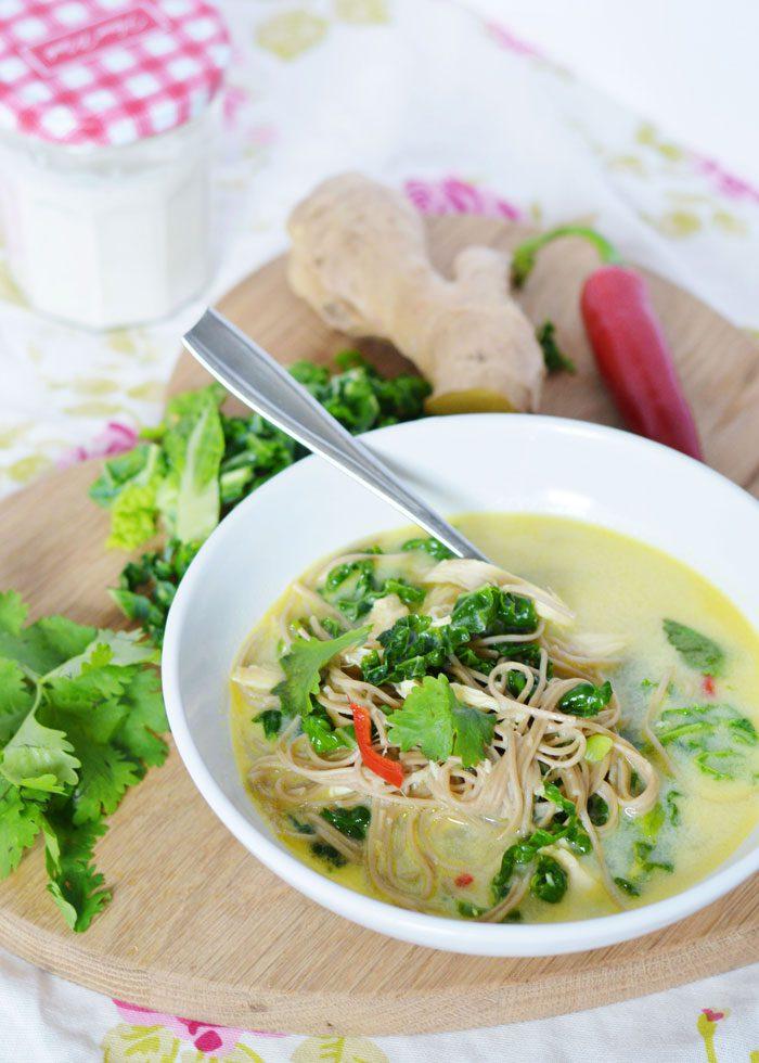 Chicken noodle soup 4