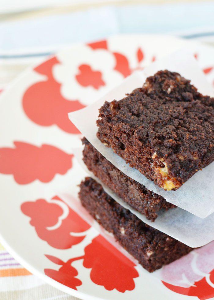 Choc chunk cake bars 3