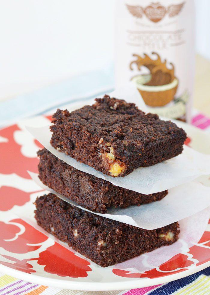 Choc chunk cake bars 4