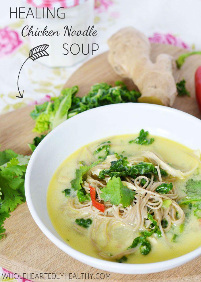 Recipe: Healing Chicken Noodle Soup