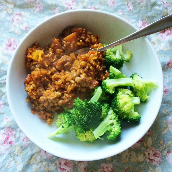 Illumi tagine with broccoli
