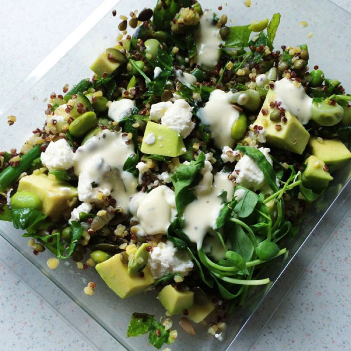 Marks and spencer feta and avocado salad