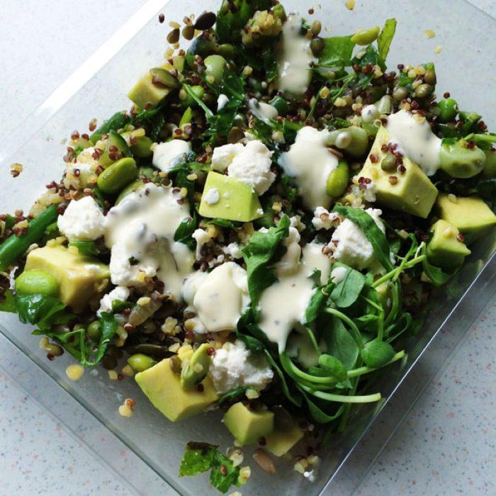Marks and spencer feta and avocado salad